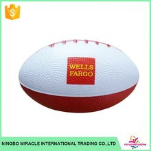 Hot sale Imprinted PU rugby Stress Ball
