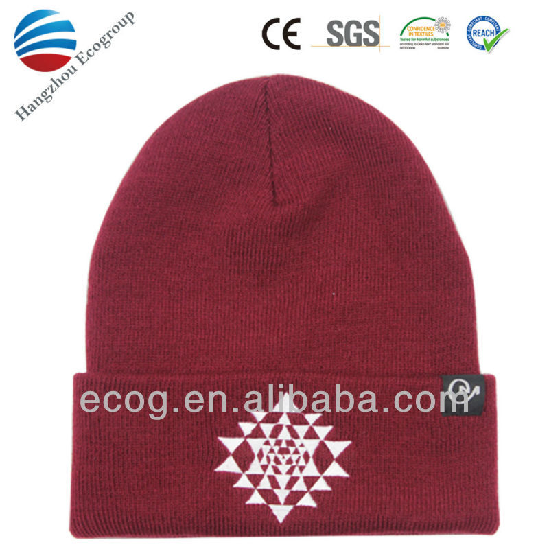 2016 new promotional korean style knitted hat