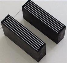 Elastomeric Neoprene rubber bridge support bearing with steel plates
