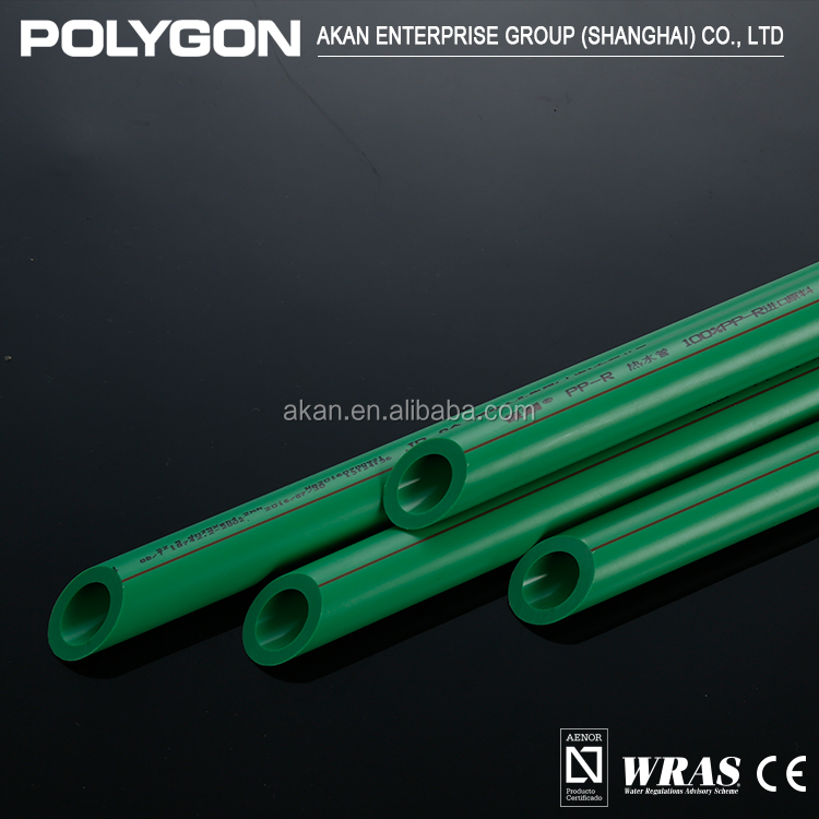 High quality Cold And Hot Water Ppr Pipe Green