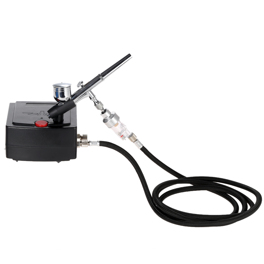 Dual Action Airbrush spray gun Air Compressor Kit aerografo pistolas for Art Painting Tattoo Manicure Cake Spray Model Nail Tool