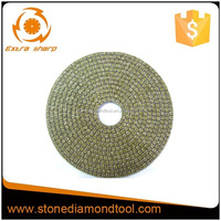 Electroplated diamond Dry/Wet polishing marble/ concrete polishing pads