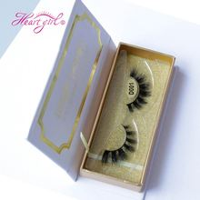 Hot Selling Best Price Custom Made 100% Real Mink Fur Fale Eyelash Lashes