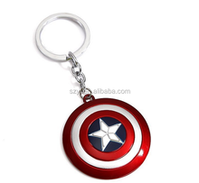 America key chain Shield Key Holder Hollywood movie promotion gifts