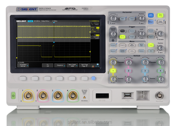 SIGLENT new SDS2104X Super Phosphor Oscilloscope, MSO function, Higher performance