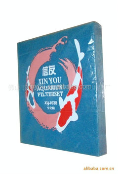 XINYOU air filter, filter sponge mat, water filter material, pond accessories XY1038