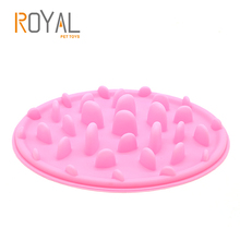 Colorful Funny Pet Feeder Food Grade Non-toxic Silicone Slow Feeder Dog Bowl