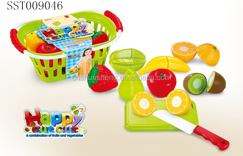 kids garden playhouse fake food fruit cooking game girls kitchen accessories
