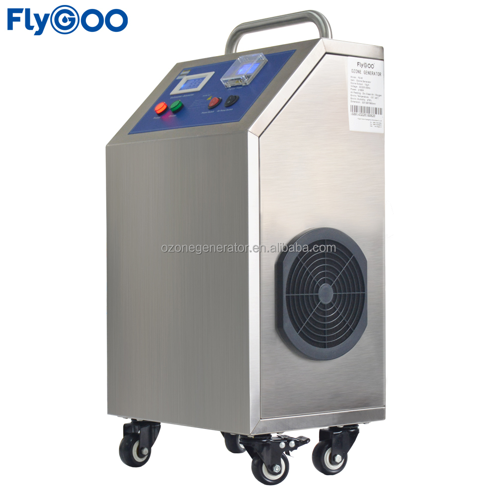 Movable Air Ozonator for Hospital Sterilization