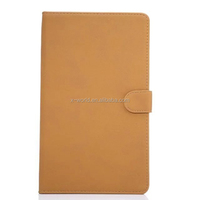 Shenzhen Manufacture OEM flate PU leather tablet case for Samsung Tab E 8.0