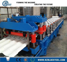 828 Type Aluminium Metal Roofing Tile Roll Making Forming Machine