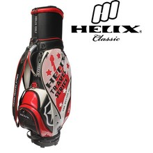Helix PU leather golf bag with head cover / golf traveling bags