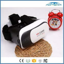 2016 China made VR case, 3d glasses VR box for blue film video open sex video