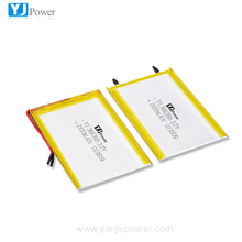 3.7v 2100mah 2p 4200mAh li polymer battery 366395 small rechargeable lithium ion battery