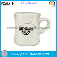 high quality porcelain old fashioned diner coffee mugs with nice design printed for promotions