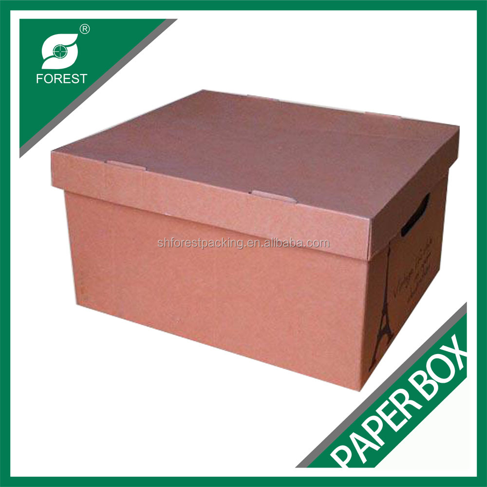 Office and house use decorative cardboard storage boxes