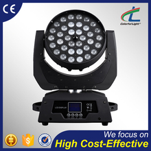 Factory price zoom wash light rgbw 36x10w moving head and price