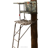 17.7' Encounter XL 2-man deluxe folding hunting ladder Stand