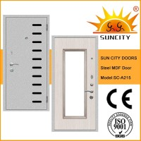 SC-A215 Turkish Indoor Master Security Door and Windows, Stainless Steel Main Doors