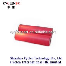 Top new sales 3.6v cylinder flat cell rechargeable lithium ion car battery 3.7V for electric car
