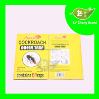 2016 professional,eco-friendly,powerful Paper Roach Trap Prison Glue Cockroach Trap