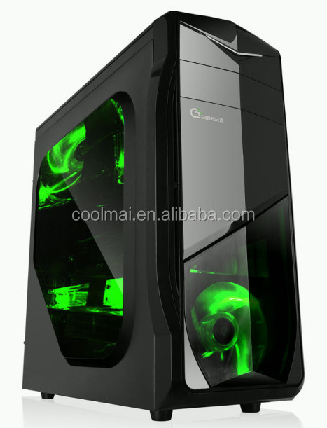 cpu casing mini ATX,glass computer case,protective case for desktop computer -U2 Black