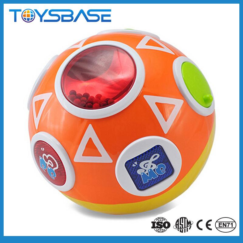 Hot sale toys educational <strong>kids</strong>, music ball with light <strong>kid's</strong> toy