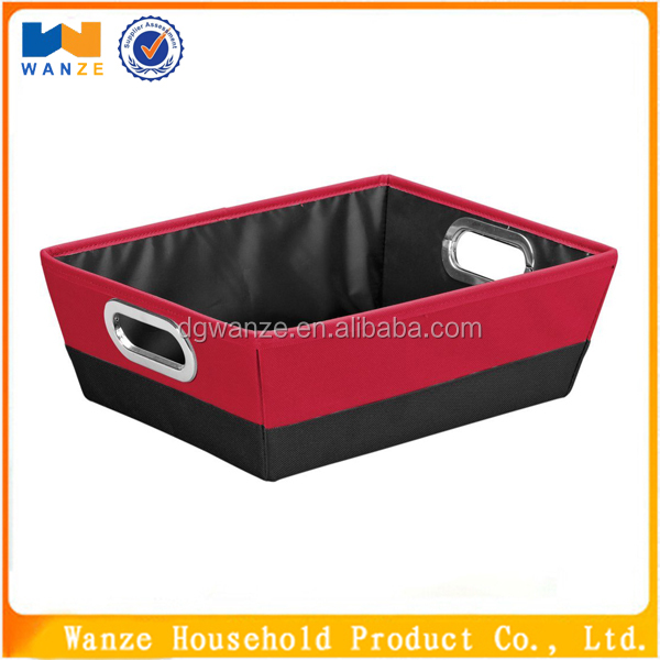 non woven fabric covered outdoor deck storage boxes