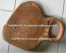 Teak Root Natural Wood Chopping Board