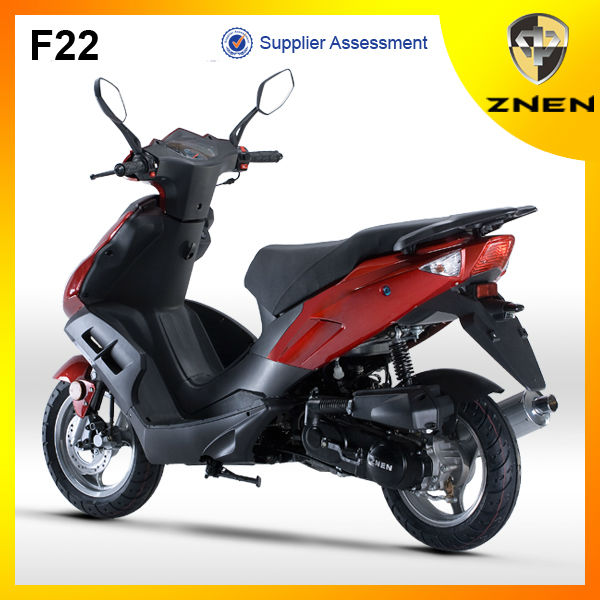 ZNEN Scooter 2017 F22 50CC 2 stroke / 4 stroke Engine EEC and DOT Gas Scooter
