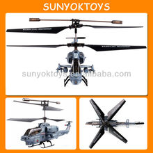 SeaCobra Model 3.5CH Alloy Structure RC Helicopter