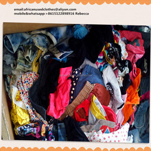 secondhand clothes/ model stylish used clothing,various kinds of children summer wear, skirt, dress, shorts , baled used clothes
