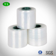 Mini LDPE/LLDPE/HDPE Stretch Film Roll Polyethylene Transparent Warp Film hand use