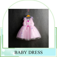 2016 summer new style beautiful custom baby dress