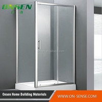 100*80 low tray bathroom corner shower cabin