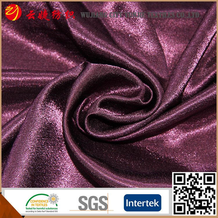 Good quality OEM 100% polyester silk textile fabrics