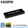 The cheapest 3D HDMI Matrix 4 in 2 out