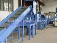 practical hot washing PP/PE plastic film recycling machine