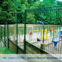 Beautiful shape, broad vision double ring fence