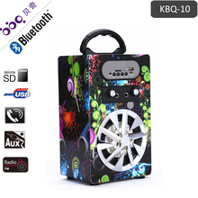 Electronics Computer Boombox Stereo Speaker with Karaoke Machine 4inch 8W 600mAh ir wireless speaker car