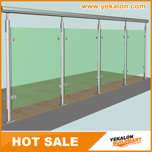 Yekalon Aluminum Deck Railing Systems and Aluminum Alloy Balcony Railings