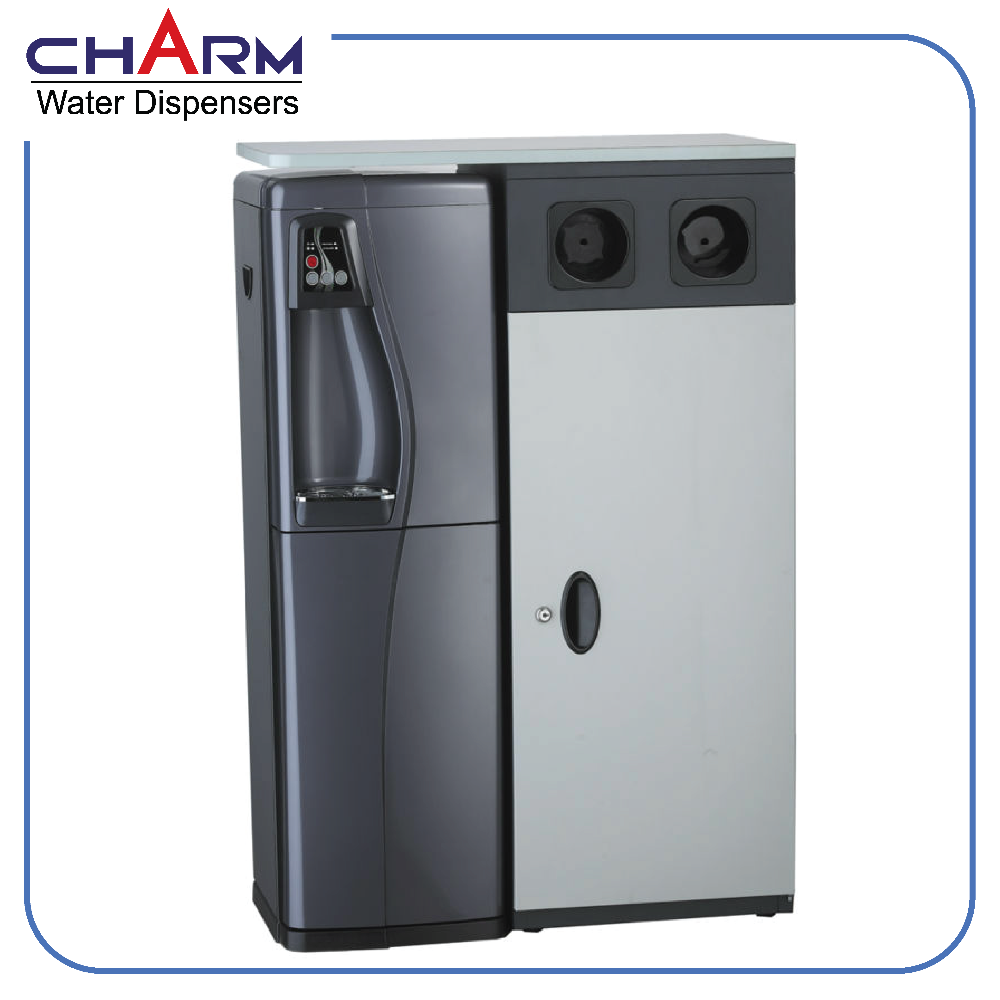 Standing Water Dispenser with Mini bar