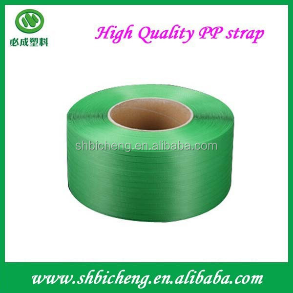 High quality transparent pp strapping band ,packing belt