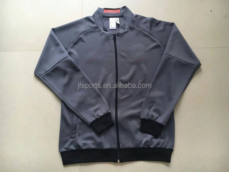 Hot selling winter jacket team jersey om soccer jersey thai jacket warm up jacket latest design jacket