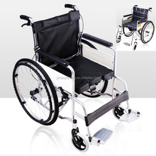 china wheelchair wholesalers Lightweight portable handicapped steel wheelchair for disabled