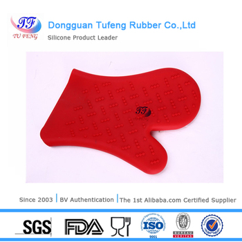 microwave silicone rubber oven gloves use in kitchen