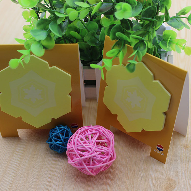 Colorful Die cut decorative sticky note