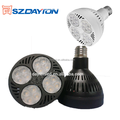 NEW Product 35w 40w spotlights led 220vltage AC90-277V dimmable par30 led 6000k e27
