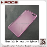 2014 MIROOS New durable UltraThin pc 5.5 inch customized glossy mobile phone case for iphone 6