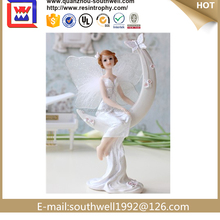 Polyresin Angel Statue Ornaments For Home Decoration Gifts For Girl